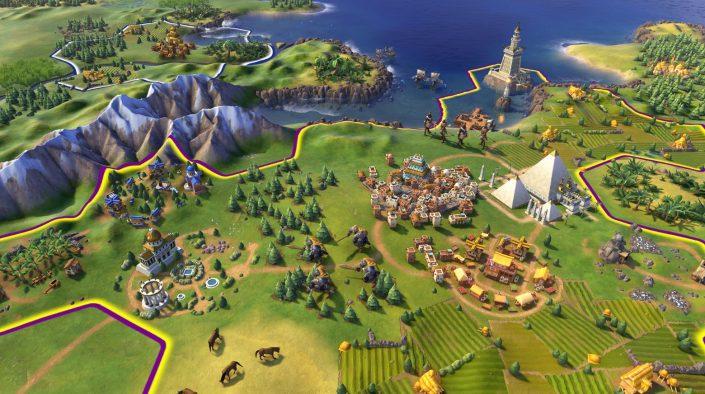 """Civilization 6: Trailer liefert frische Eindrücke zum """"Byzanz- und Gallien-Paket""""-DLC"""