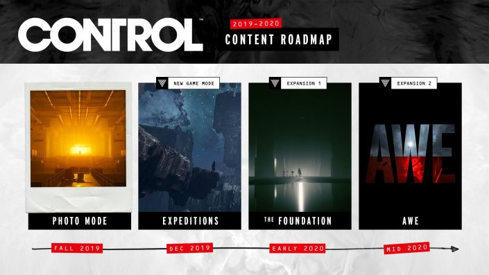 Control: Post-Launch-Roadmap bestätigt zwei Erweiterungen, Fotomodus, neuen Spielmodus und mehr