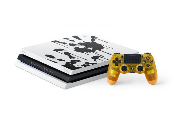 PlayStation 4 Pro: Limitiertes Modell im Design von Death Stranding angekündigt – Trailer & Bilder