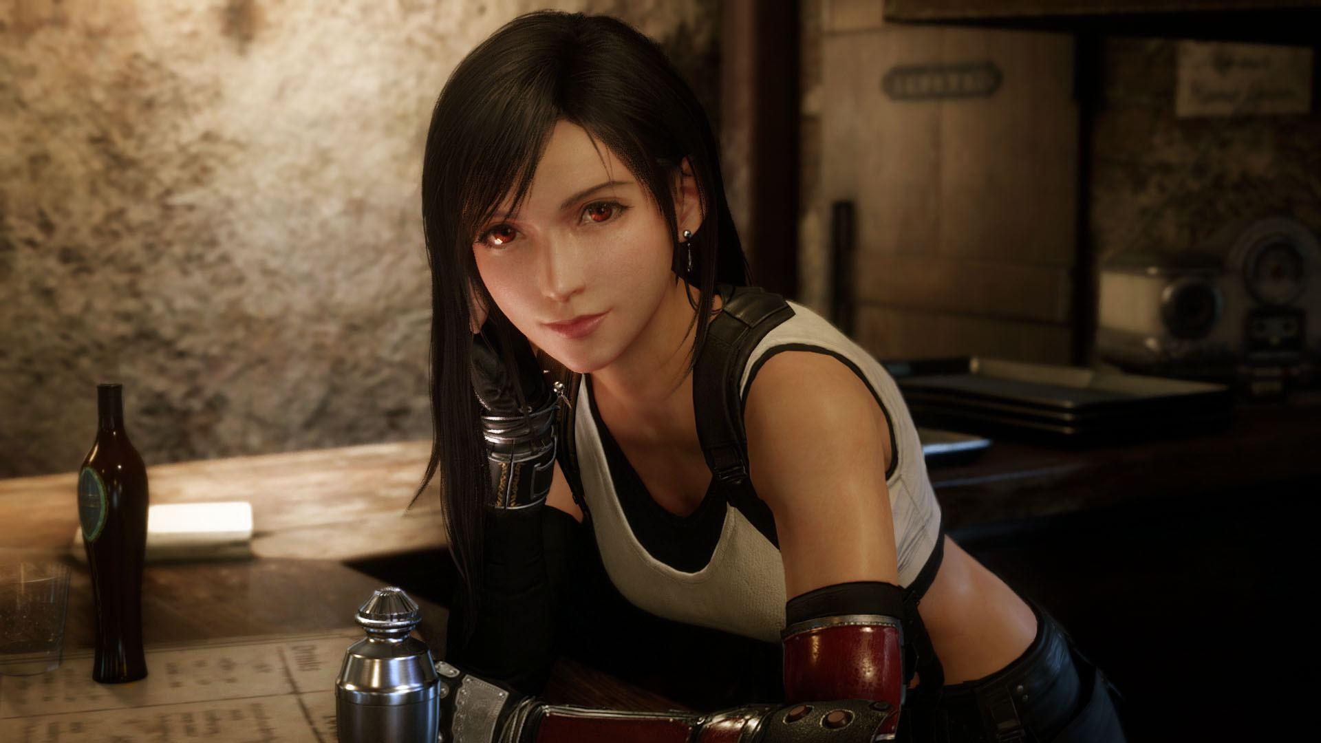 Final Fantasy VII Remake 17_Seventh_Heaven_Tifa_Event