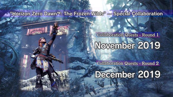 Monster Hunter World – Iceborne: Zweite Erweiterung erscheint im Dezember – Horizon Zero Dawn-Crossover im Trailer