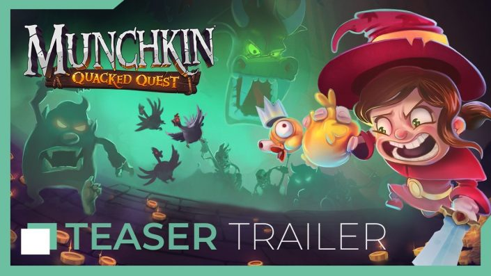 Munchkin Quacked Quest: Gaming-Adaption des Kartenspiels mit Teaser-Trailer angekündigt