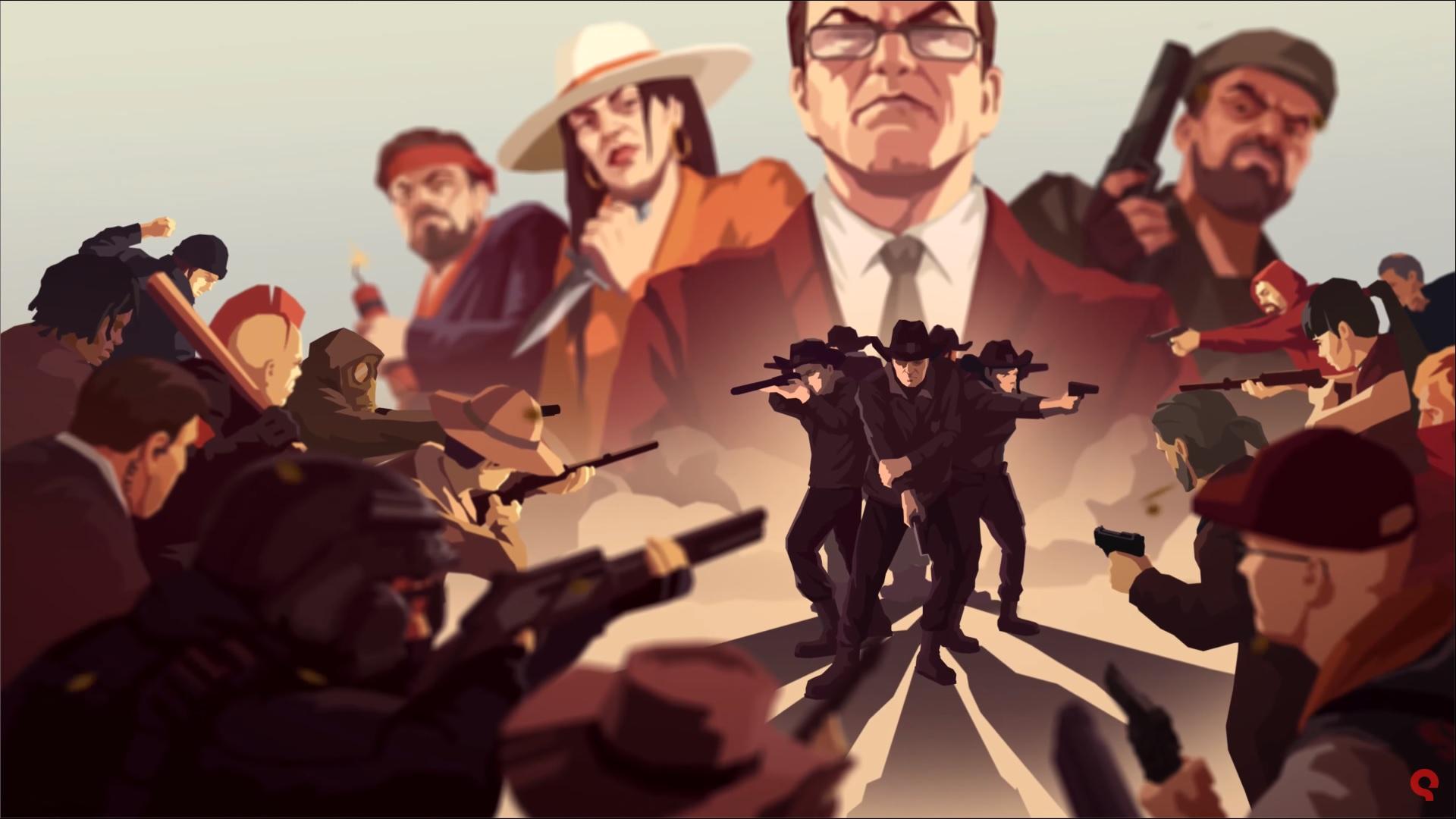 Rebel Cops: Das rundenbasierte Strategiespiel im stimmigen Launch-Trailer vorgestellt