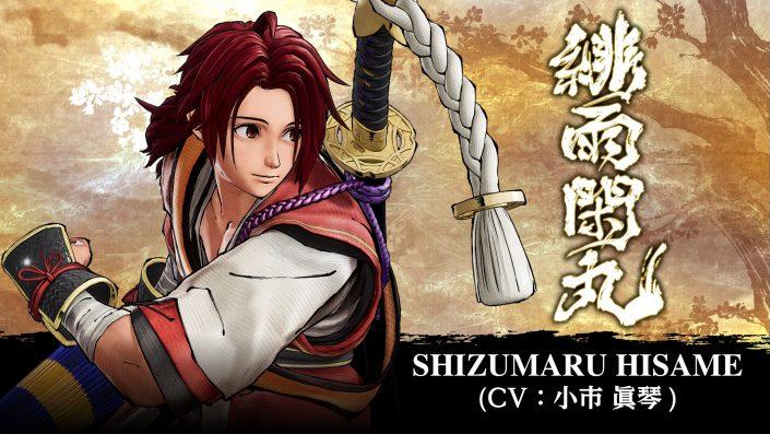 Samurai Shodown: Gratis-DLC-Charakter Shizumaru Hisame hat einen Termin – Trailer und Bilder