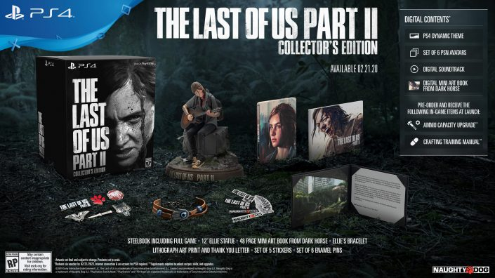 The Last of Us Part 2: Collector's Edition mit Ellie-Statue wieder vorbestellbar