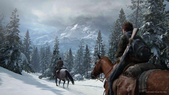 The Last of Us Part 2: Teaser mit Kletterpartie und schwachen Schneeanimationen