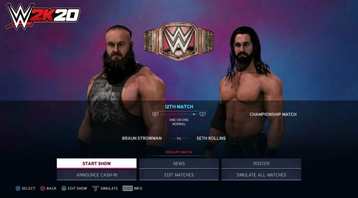 WWE 2K20: Universum-Modus erscheint mit Neuerungen – 2K enthüllt Details