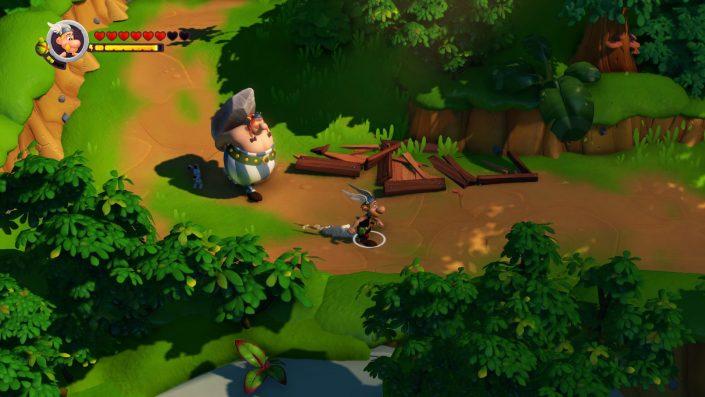 Asterix & Obelix XXL3 Der Kristall-Hinkelstein: Screenshots zum neuen Gallier-Abenteuer und Editionen vorgestellt