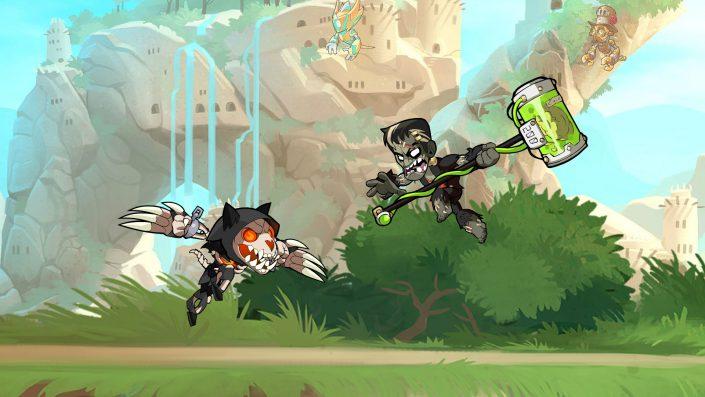 Brawlhalla: Crossplay für PS4 verfügbar und Brawlhalloween-Event bringt Halloween-Feeling ins Spiel