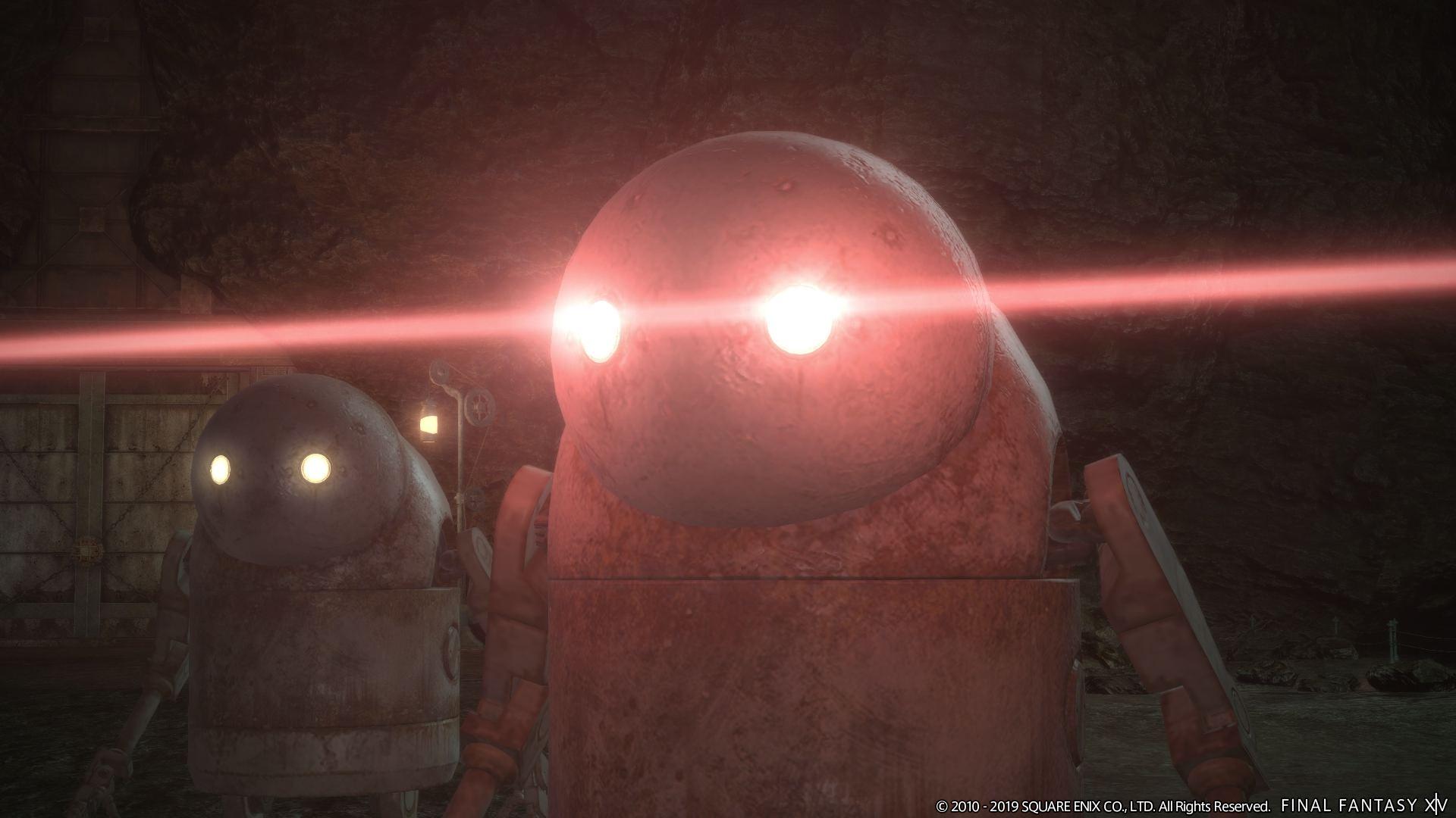 Final Fantasy XIV: Erste Szenen aus dem NieR Allianz-Raid aus Patch 5.1 im Trailer