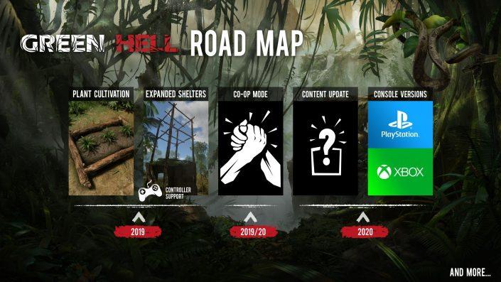 Green Hell: Die Dschungel-Survival-Simulation erscheint 2020 auch für PS4 und Xbox One