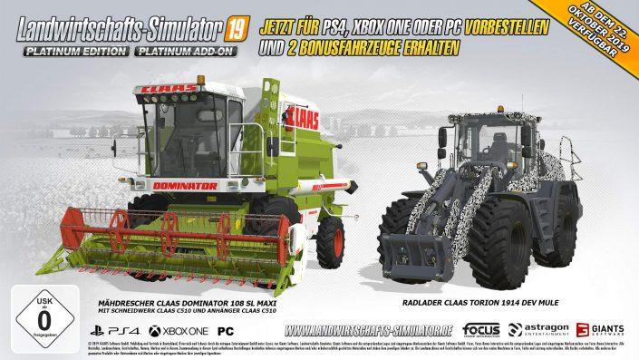 Landwirtschafts-Simulator 19: Platinum Edition zeigt sich im Launch-Trailer
