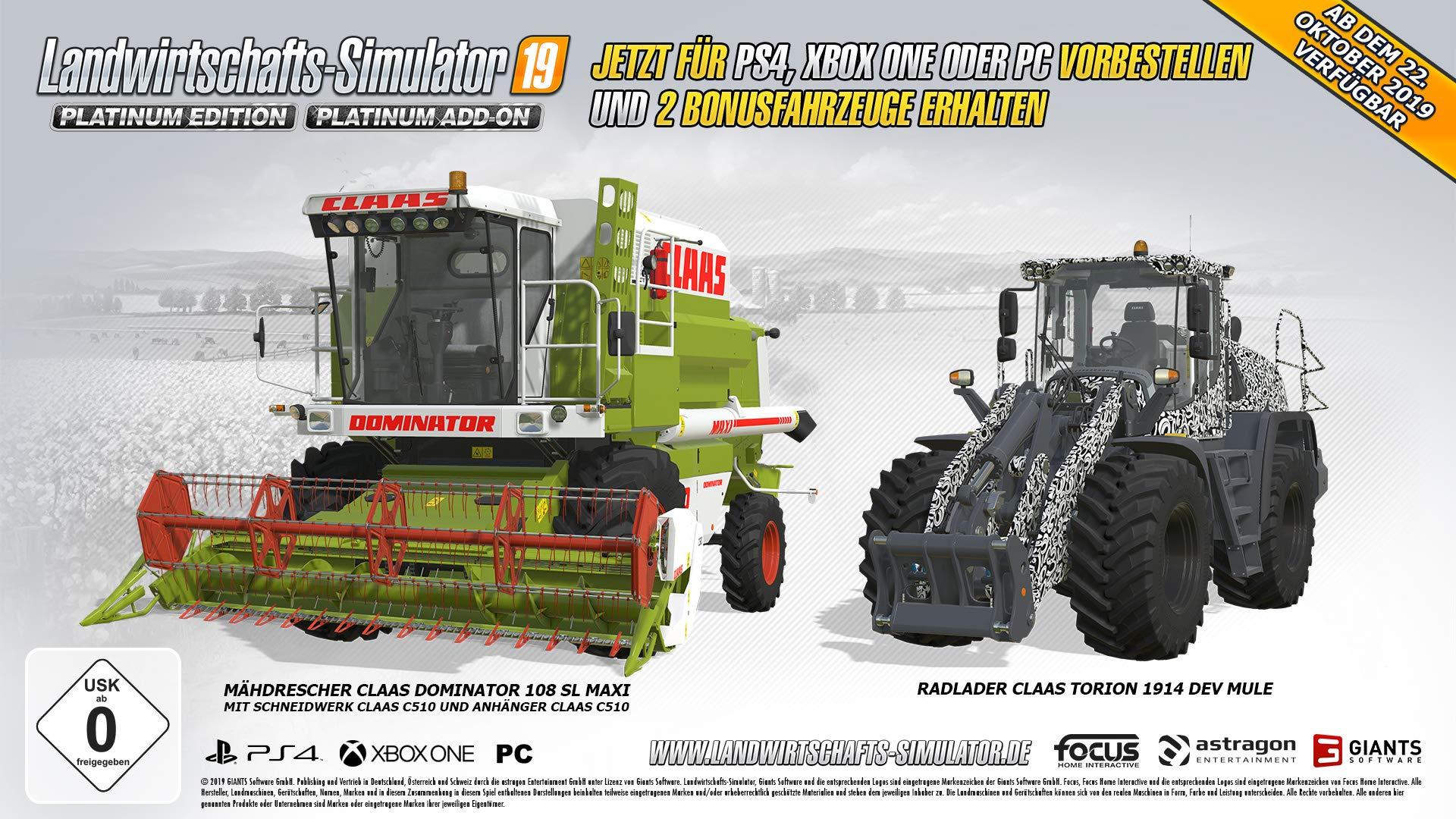 Landwirtschafts-Simulator 19 Platinum Edition Vorbesteller