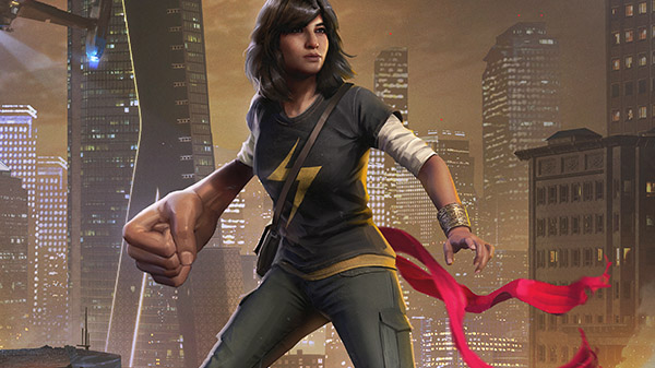 Marvel's Avengers: Auch Captain Marvel existiert in der Spielwelt