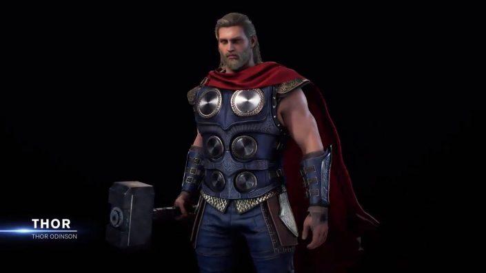 Marvel's Avengers: Details zum Charakter-Design von Thor