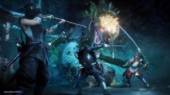 """Nioh 2: Protagonist der """"Ninja Gaiden""""-Reihe ist ab sofort spielbar"""