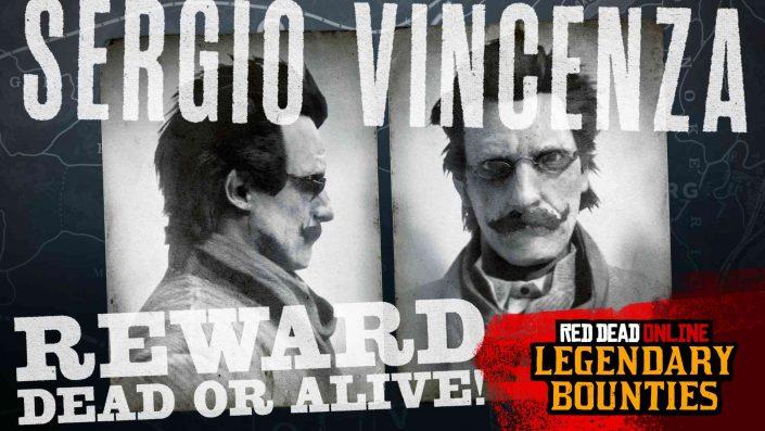Red Dead Online: Legendäre Kopfgeldjagd auf Sergio Vincenza, Naturliebhaber-Sammlung, Boni und mehr
