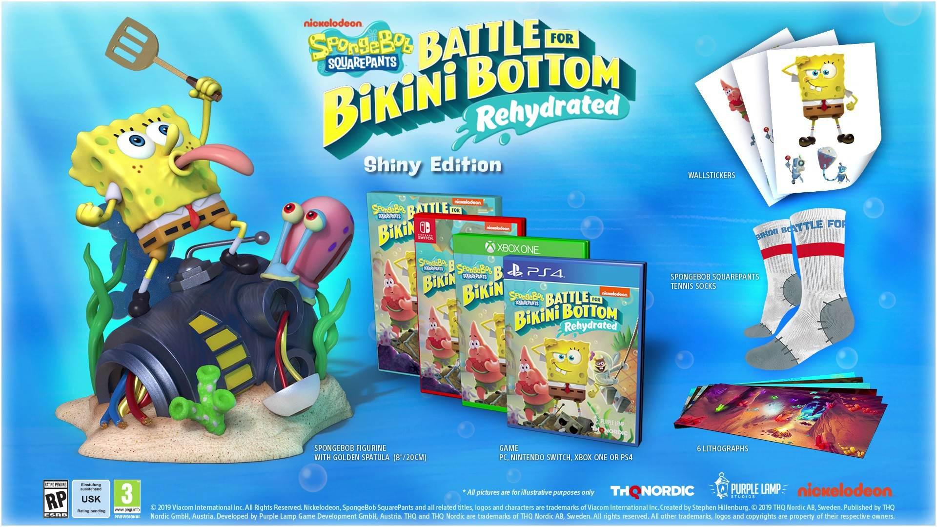 SpongeBob SquarePants Battle for Bikini Bottom Rehydrated ...