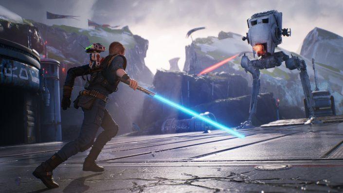 Star Wars Jedi Fallen Order: Skillfortschritt ist an die Story gebunden und BD-1 im Video vorgestellt