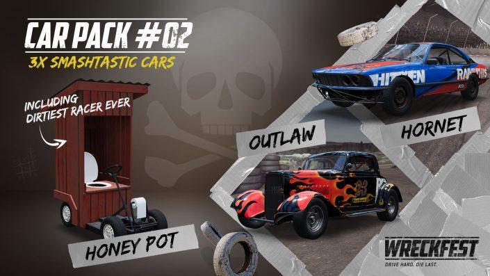 Wreckfest: Backwoods Bangers Car Pack im Trailer vorgestellt
