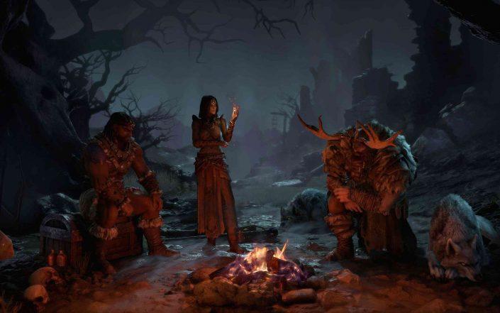 """Diablo 4: Lob vom Designer des Originals – """"Wie etwas, was ich designen würde"""" – Screenshots & Artworks"""