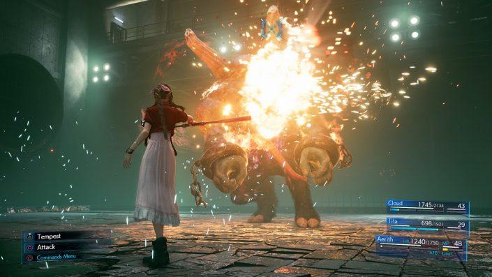 """Final Fantasy VII Remake: Aeris' """"Tempest""""-Attacke vorgestellt"""