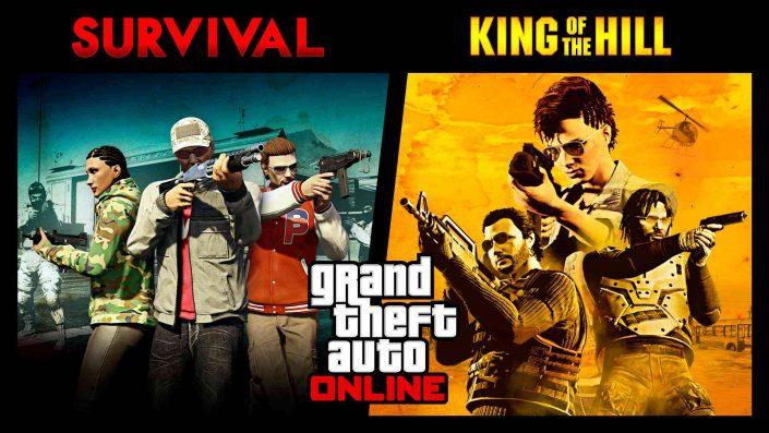 GTA 5 Online: Überlebenskampf- und King-of-the-Hill-Editor, Rabatte und mehr