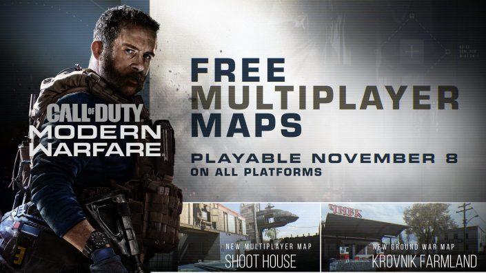 Call of Duty Modern Warfare: Patch 1.07 ab heute – Zwei neue Karten und Hardpoint-Modus spielbar