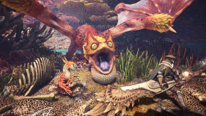 Monster Hunter World Iceborne: Crossover mit Resident Evil 2 und Horizon Zero Dawn enthüllt