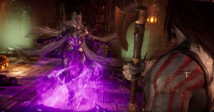 Mortal Kombat 11: Sindel kommt – DLC-Trailer und Termin
