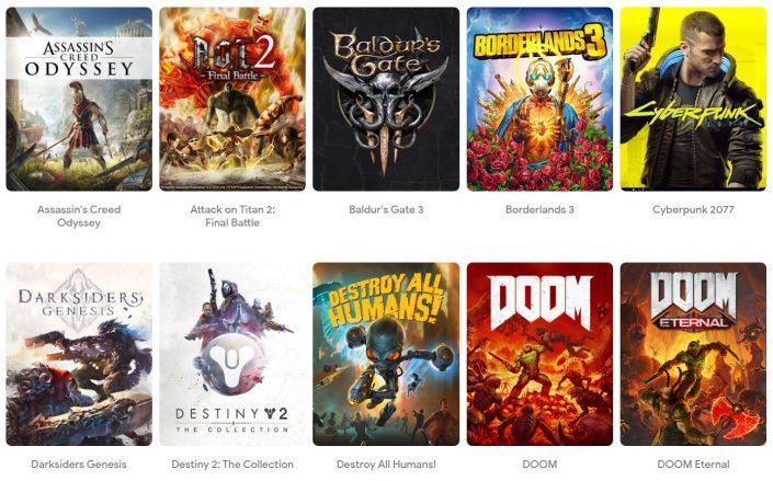Google Stadia: Preise der Spiele enthüllt – Billig wird es nicht