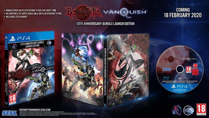 Bayonetta & Vanquish: 10th Anniversary-Bundle für PS4 veröffentlicht – Launch-Trailer
