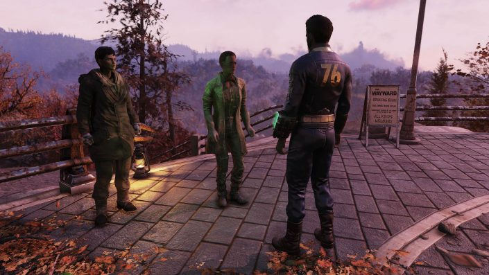 """Fallout 76 Wastelanders: Neue Events """"Beifahrer"""" und """"Strahlenschlägerei"""" vorgestellt"""