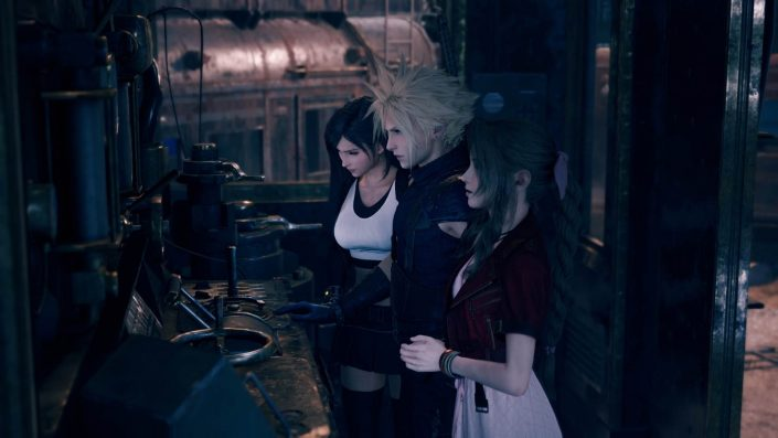 Final Fantasy VII Remake: Eine Rückkehr zum originalen ATB-System wurde nie in Betracht gezogen