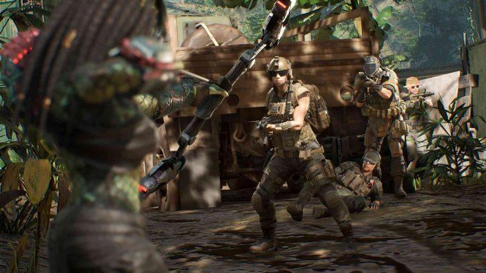 Predator Hunting Grounds: August-Update bringt Crossplay & neue Waffen ins Spiel