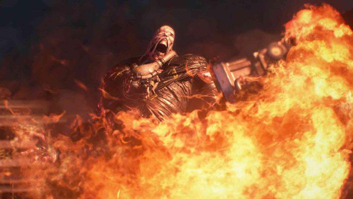 Resident Evil 3: Remake auf ersten Screenshots abgelichtet