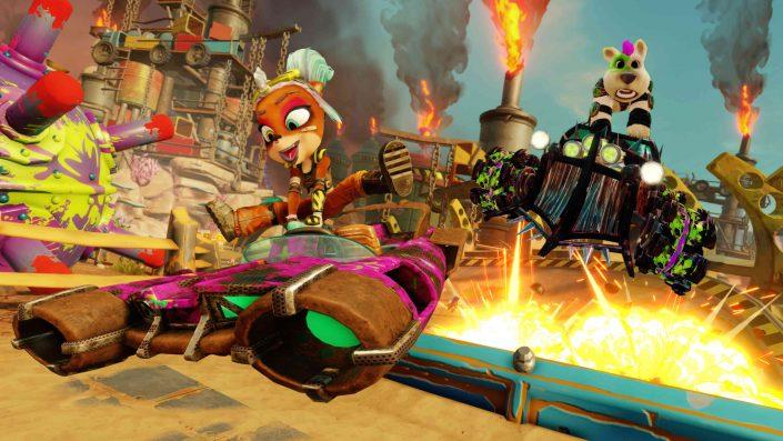 Crash Team Racing Nitro-Fueled: Rostland-Grand Prix angekündigt – Trailer, Gameplay und Bilder