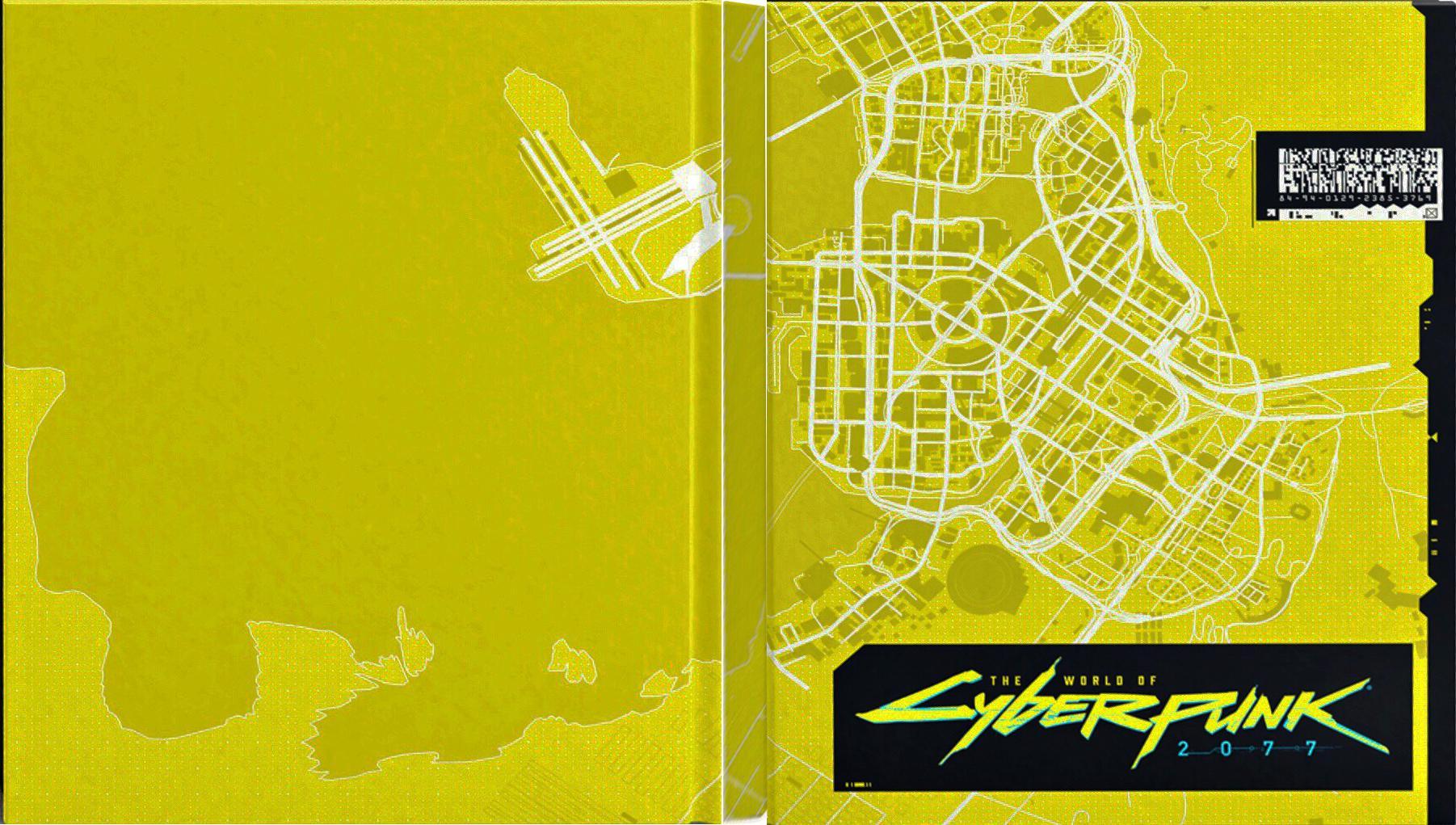 Cyberpunk 2077 – The World of Cyberpunk 2077 Cover