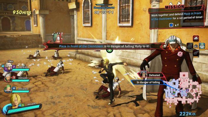 One Piece Pirate Warriors 4: Splitscreen-Koop-Modus im Gameplay-Video