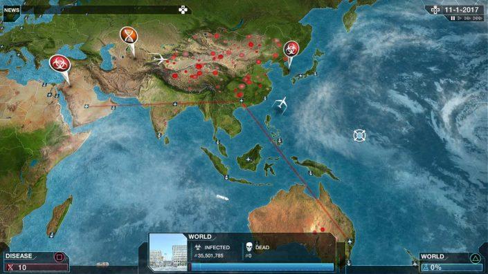 Plague Inc.: Neuer Modus lässt euch einen tödlichen Ausbruch stoppen