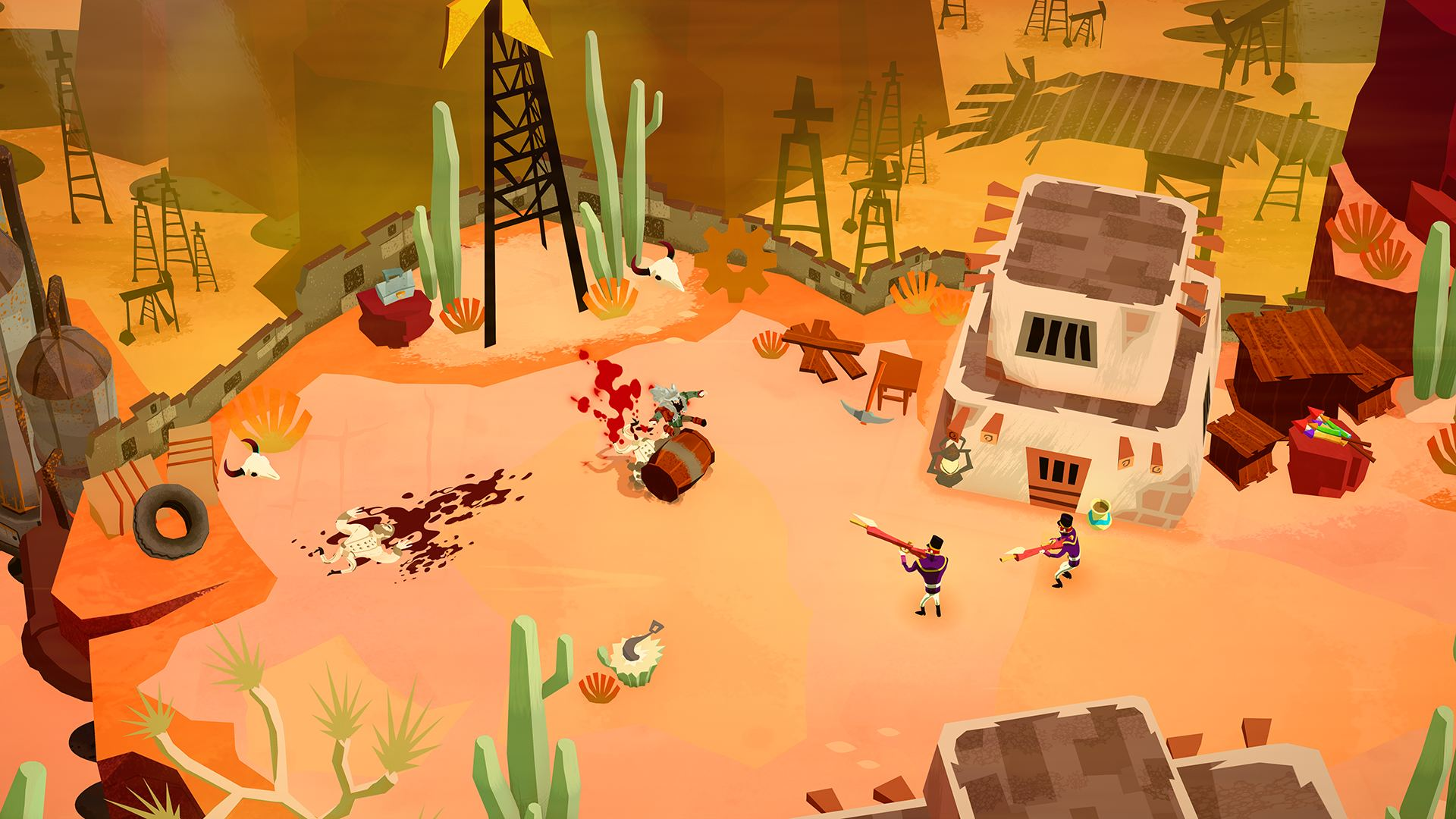 Bloodroots Screenshot_Level_1_2_Desert