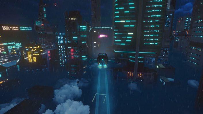 Cloudpunk: Release-Datum mit neuem Trailer angekündigt