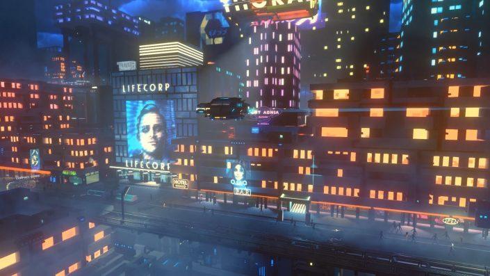 Cloudpunk: Storybasiertes Cyberpunk-Kurierspiel mit atmosphärischem Trailer angekündigt
