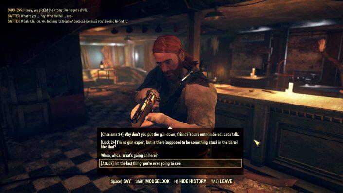 Fallout 76 Wastelanders: Details zum Dialogsystem enthüllt und Double-XP-Weekend gestartet