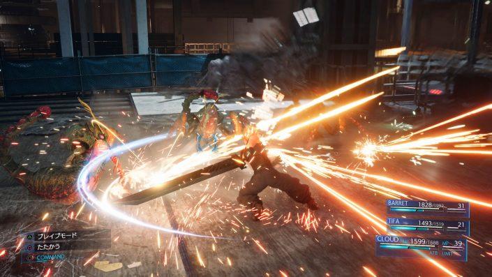 Final Fantasy VII Remake: Installationsgröße enthüllt – Dreistelliger GB-Bereich