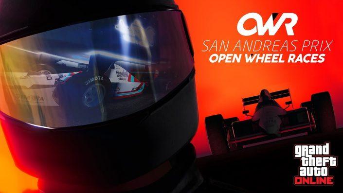 GTA Online: Open Wheel Racing im Trailer vorgestellt