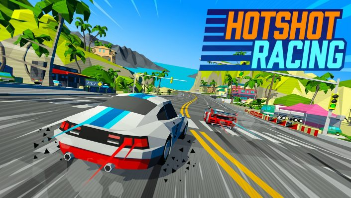 Hotshot Racing: Neuer Retro-Arcade-Racer mit rasantem Trailer angekündigt