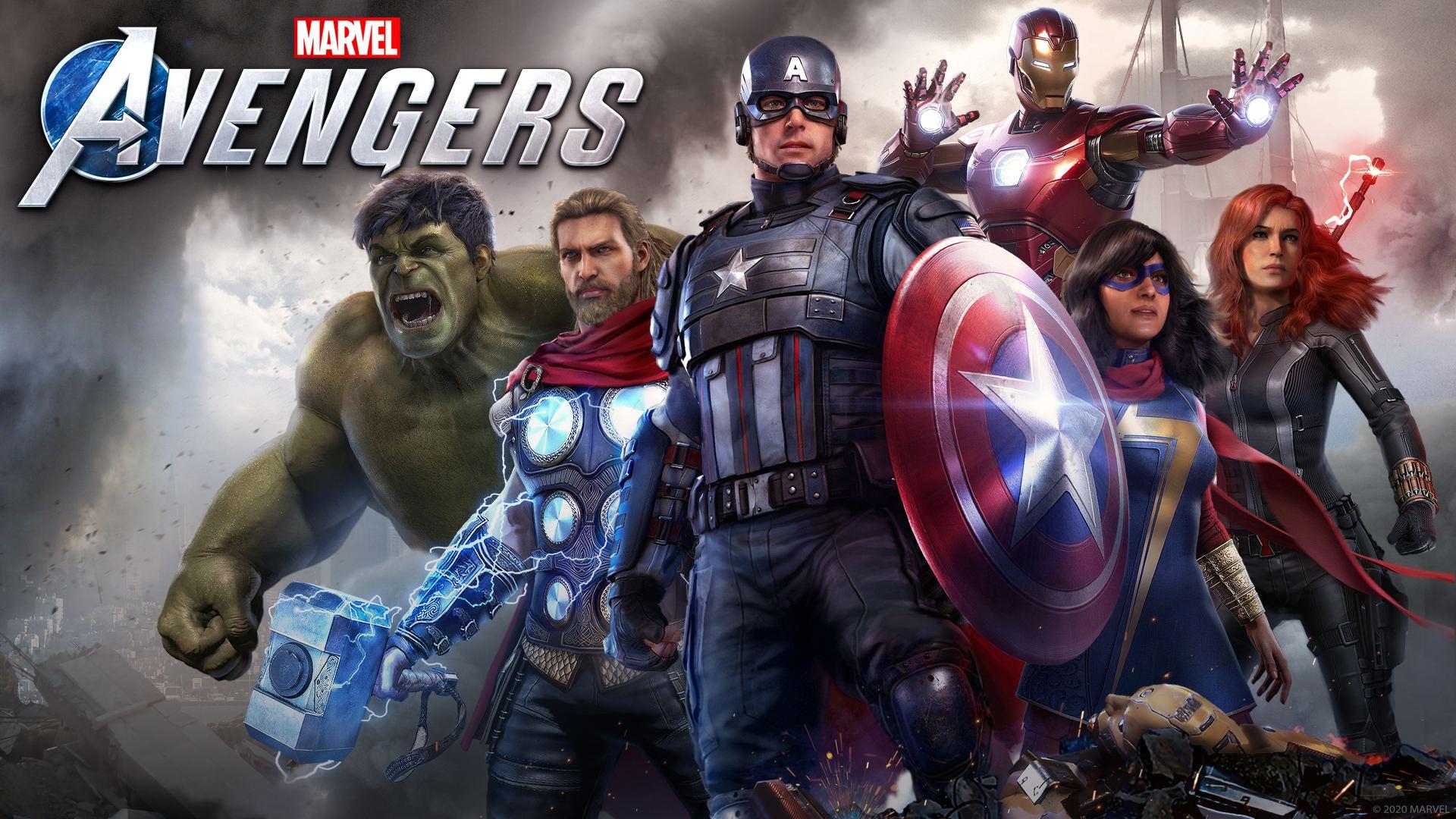 Marvel's Avengers Key Art 1920×1080