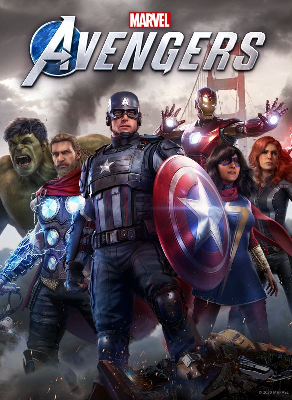 Marvel's Avengers Key Art 584×800