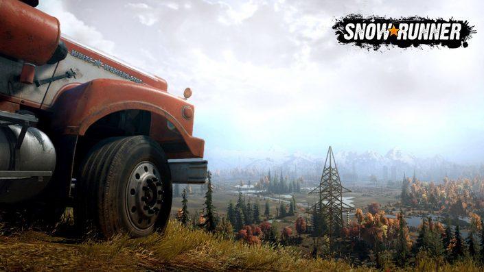 SnowRunner: Mod-Unterstützung auf der PlayStation 4 gestartet – Trailer